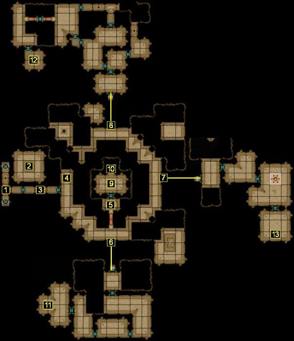 Hordes of the Underdark - Undermountain - Level 2
